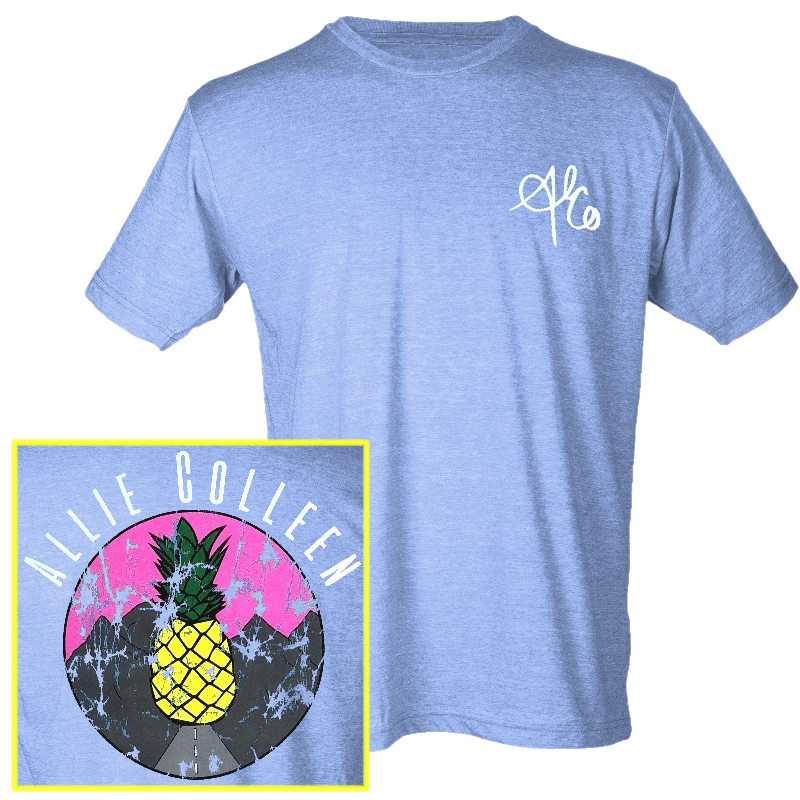 Allie Colleen Heather Athletic blue tee